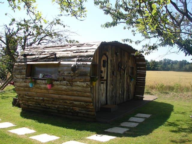 """De l'Ain à l'hôte chambre """"La Cab'âne"""" - Saint-Trivier-sur-Moignans - Guesthouse"""