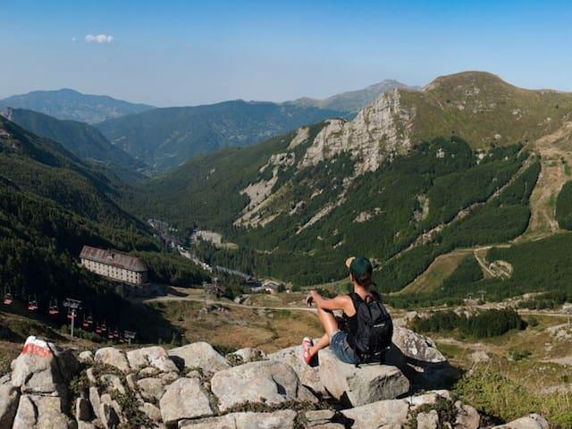Grazioso monolocale per vacanza - ABETONE - Huoneisto