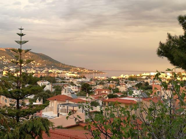 Maisonette 2 min from sea, 15 min from ΑΤΗ Airport - Porto Rafti - Villa