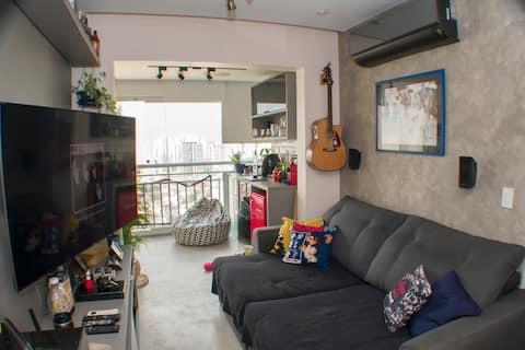 Apartamento aconchegante em Guarulhos