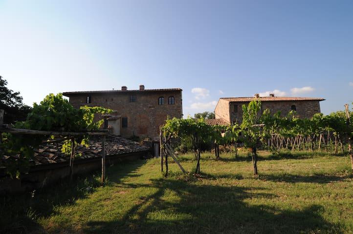 """Appartamento """"riccio"""" a Scorgiano - Monteriggioni - Appartement"""