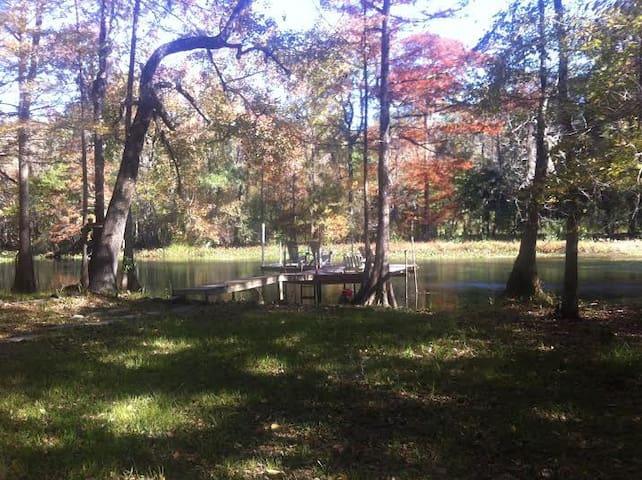 Sweet Peace, 2 bedroom 2 bath on St. Marks River .