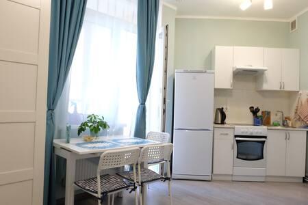 Cozy homelike studio apartment