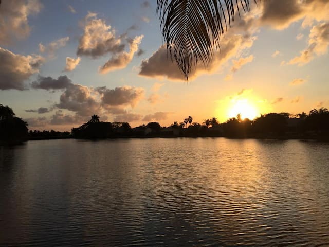 Private, peaceful getaway on the water! - Boynton Beach - Casa