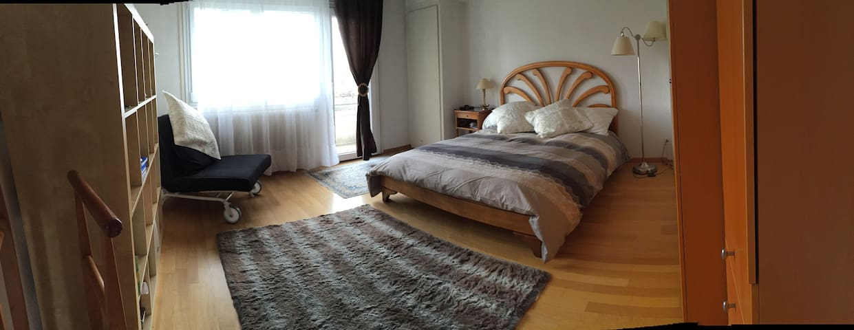1st house floor for 2,4 or 6 peopl - Genève - Bed & Breakfast