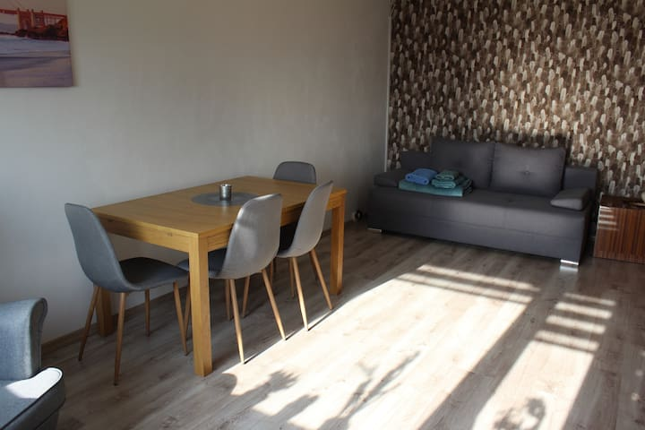 Spacius, cozy room near airport/railway station
