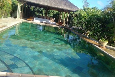 Beautiful large private villa facing the lagoon - Calodyne - 別墅