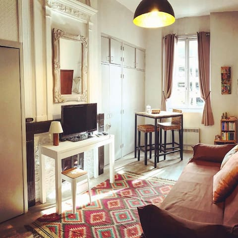 charmant studio centre ville toulouse appartements louer toulouse languedoc roussillon. Black Bedroom Furniture Sets. Home Design Ideas