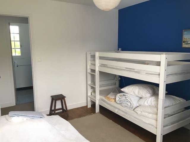 Chambre 4 - Bleue