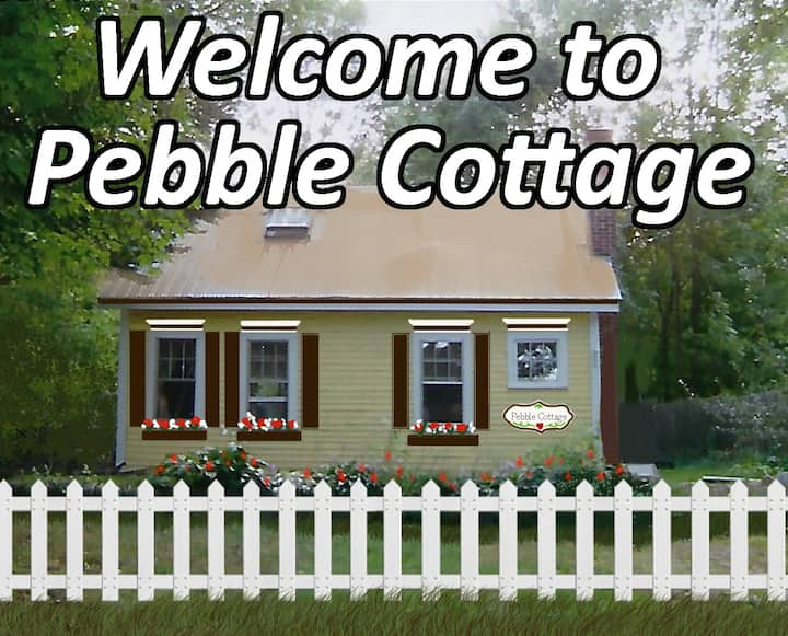 Rustic Pebble Cottage in beautiful Bridgton, Maine
