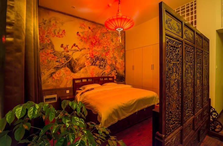 山水村境﹒慕田峪长城故事酒店—紫气东来中式豪华套房 - Peking - Haus