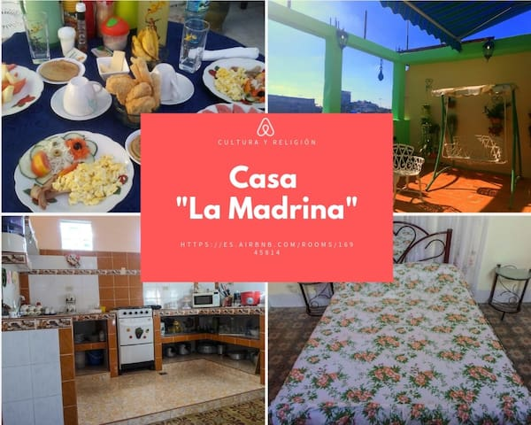 "Welcome to your new Home ""La Madrina"""
