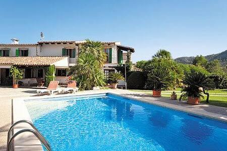Vila con piscina privad, traquila , aire - ポレンサ - 別荘