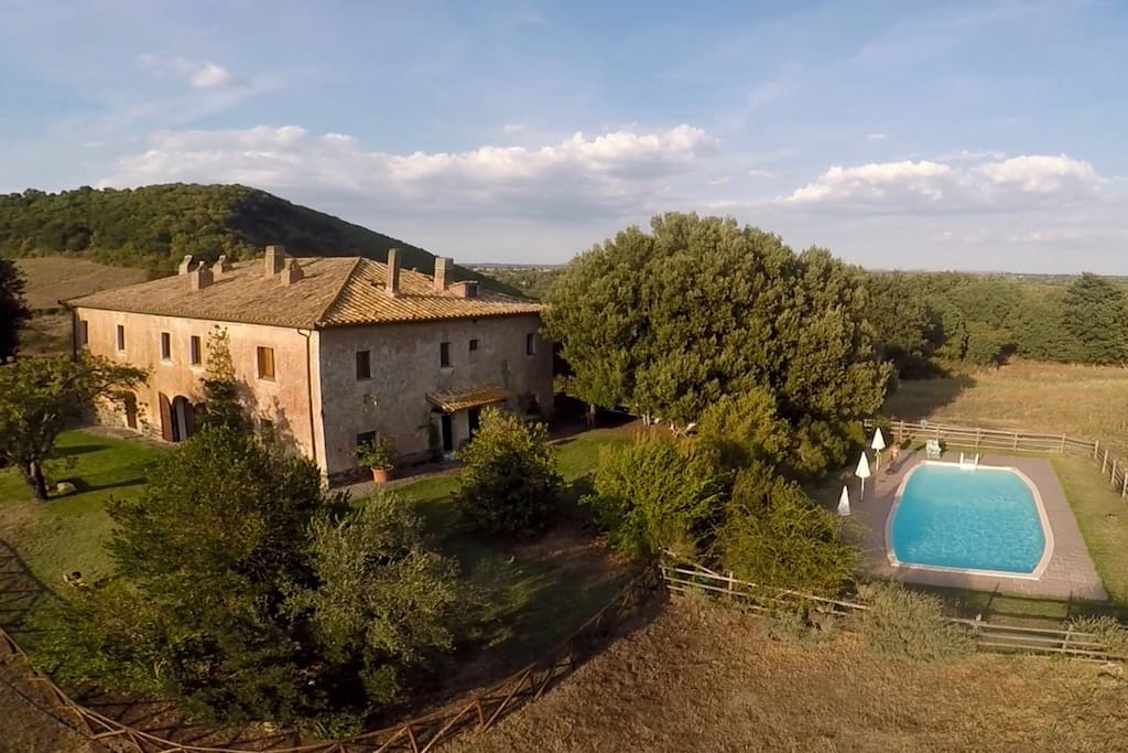 Panoramica casale / Panoramic country house