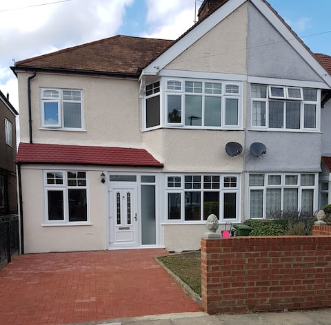 Newly refurbished house in immaculate condition.