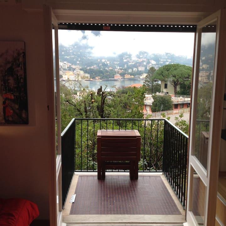 Monolocale vista mare a Rapallo   (010046-LT-0461)