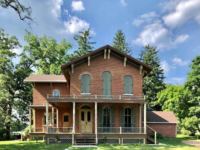 1868 Victorian Italianate Villa