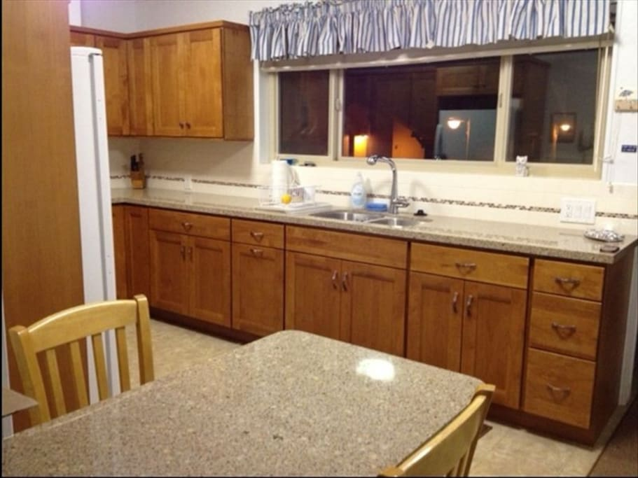 Kitchen of Giac's- remodeled about 5 years ago