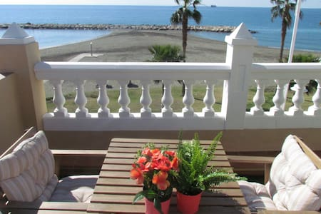 ALOJAMIENTO 1°LINEA PLAYA/BEACHFRONT ACCOMMODATION
