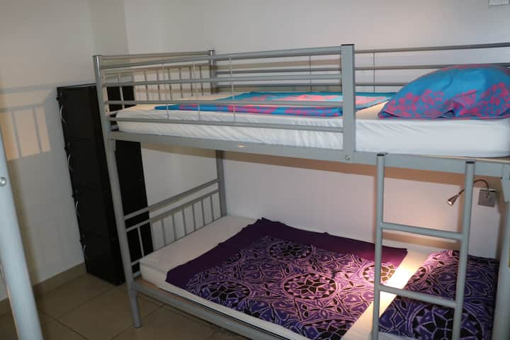 6 beds dormitory reserved for women