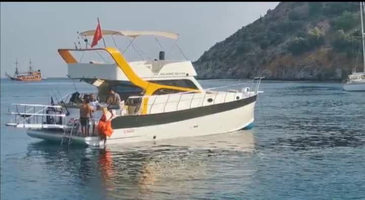 Alanya boat tour