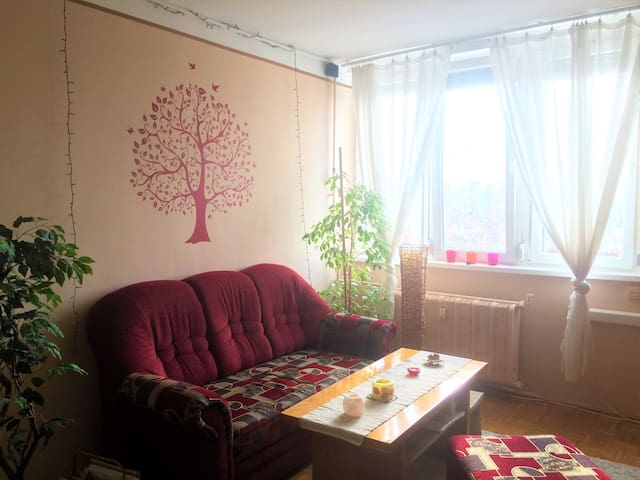 Cosy flat in a green surrounding near the airport - Budapest