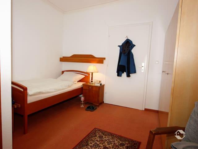 Hotel Kühler Brunnen mit Gästehaus, (Bad Herrenalb), Haupthaus EZ mit Dusche und WC