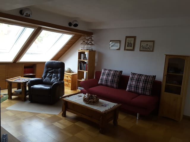 Sunny 3-Room Flat near Nuremberg Germany - Wendelstein - Apartmen