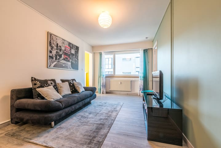 Modern and cosy flat near train station - 44m2