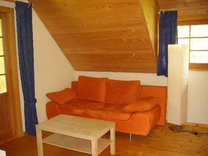 """Balzenhof, (Titisee-Neustadt), Ferienwohnung """"Schwalbennest"""", 40qm, 2 Schlafzimmer, max. 4 Personen"""
