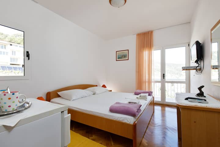 Perfect room near center with large balcony