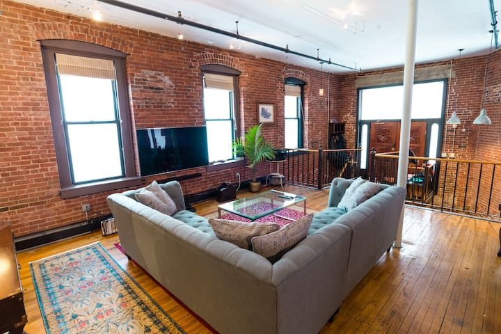 Huge Loft in the Heart of Boston | Walk Everywhere