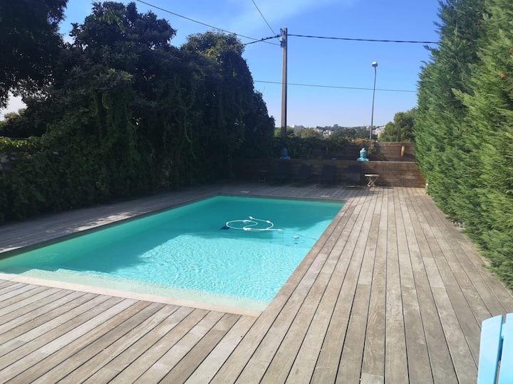 T2 de 40 m2 dans villa accès piscine (4pers Max)