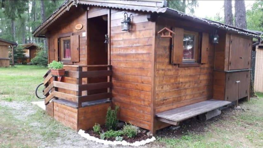 Bungalow casetta in campeggio