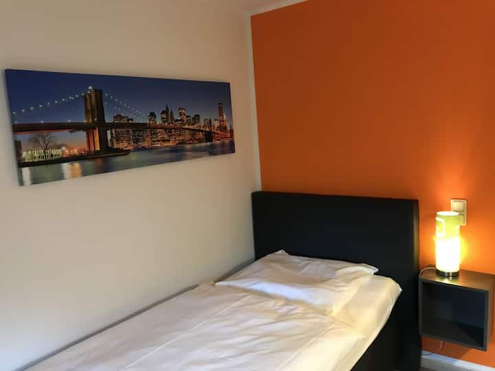 City und Messehotel Sehnder Hof's preiswertes Einzelzimmer