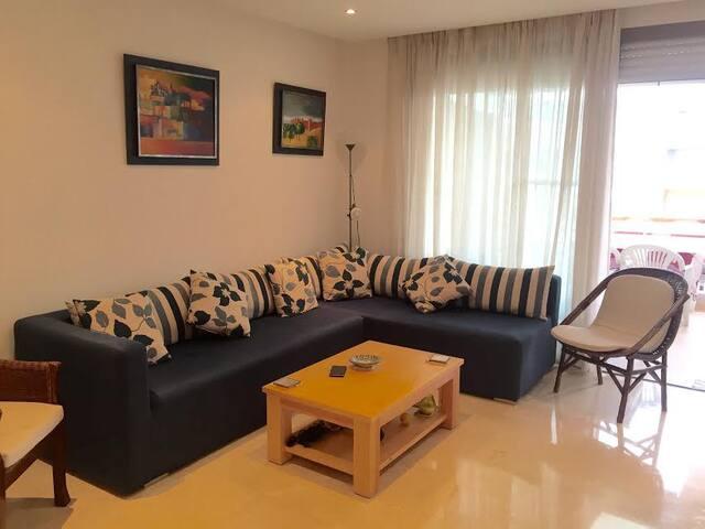 Appartement Meublé à Plage Des Nations - MA - Apartment
