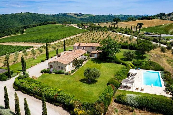 Villaflair - Villa Magliano in Tuscany