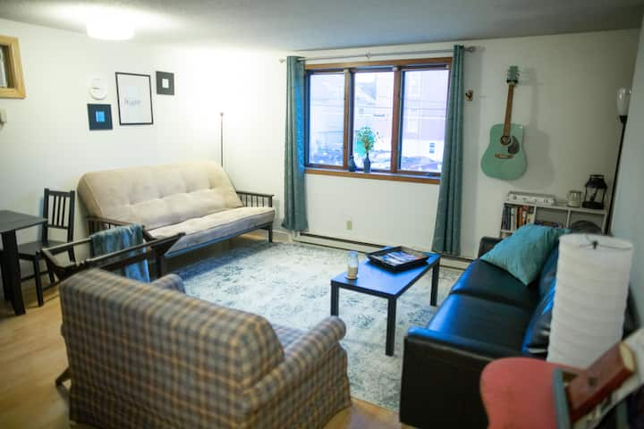 Cozy & Vibrant Downtown Apt (Newly remodeled)