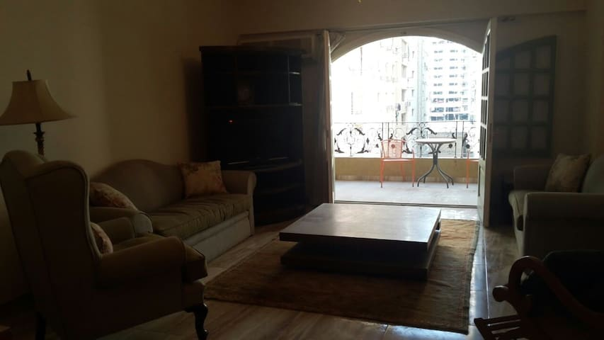 Comfy, sunny, family apartment. - Cairo Governorate - Appartement