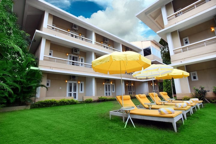 Cherish White Zircon 1BHK Apartment,Beach Life GOA
