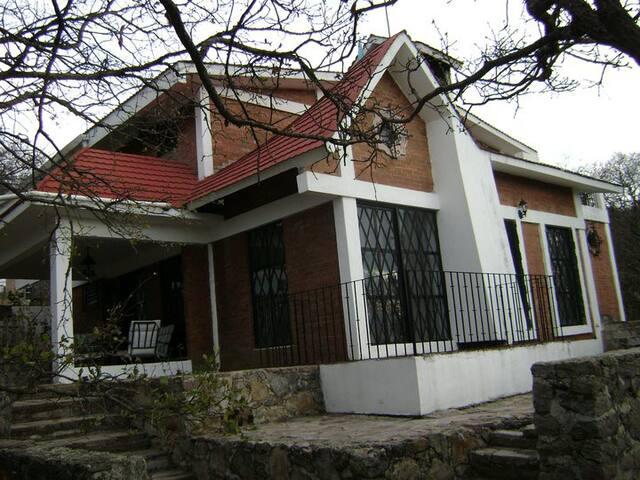 Cabaña La Serenidad Sierra de Lobos - León - Huis