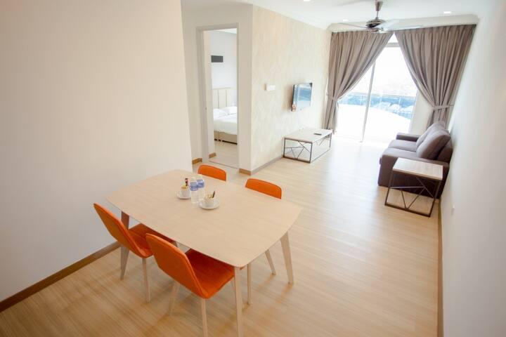 Melaka Wave Hotel 005 [Deluxe Suite - 1 Bedroom]