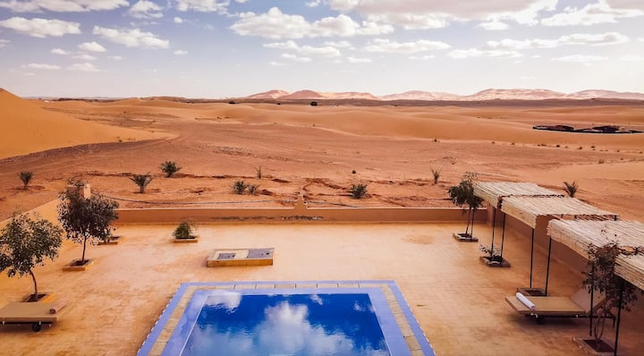 SANDFISH LUXURY RESORT - Pearl of Sahara Desert