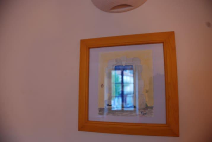 Chambre Jaune à La Maison du Voisin - Banon - Rivitalo