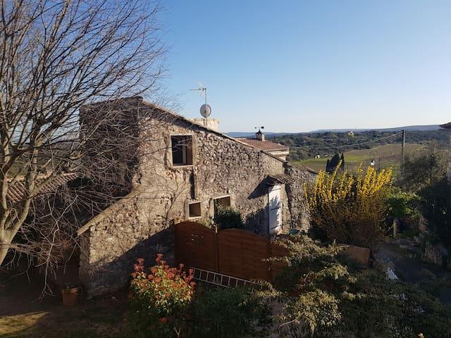 Gite Lilou et Manu-  Maisonnette  Sud Ardèche