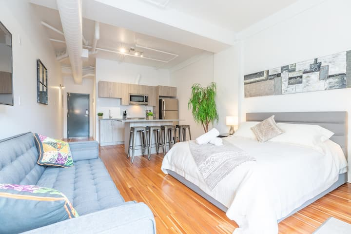 Le Moderne New Renovated Studio Downtown Plateau