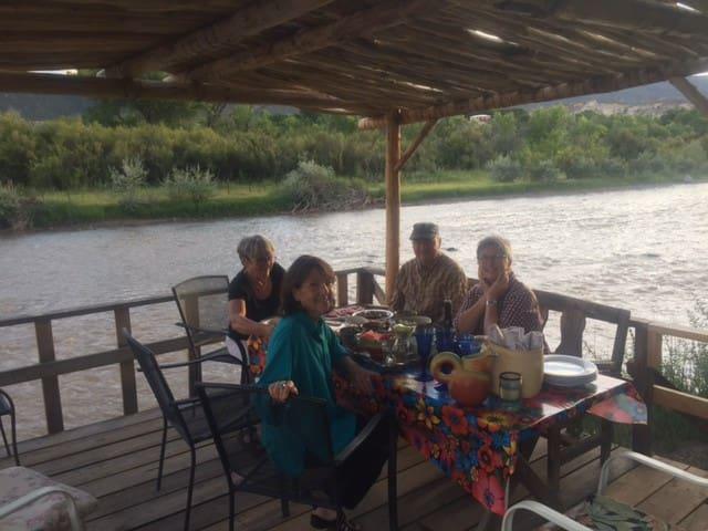Abiquiu Retreat on the River