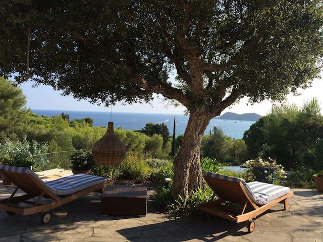 Villa Vue mer Ramatuelle - Domaine de l'Escalet - Ramatuelle