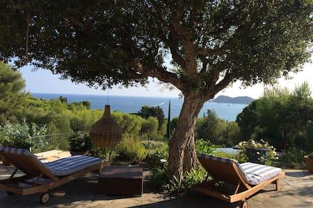 Villa Vue mer Ramatuelle - Domaine de l'Escalet - ラマチュエル - 別荘