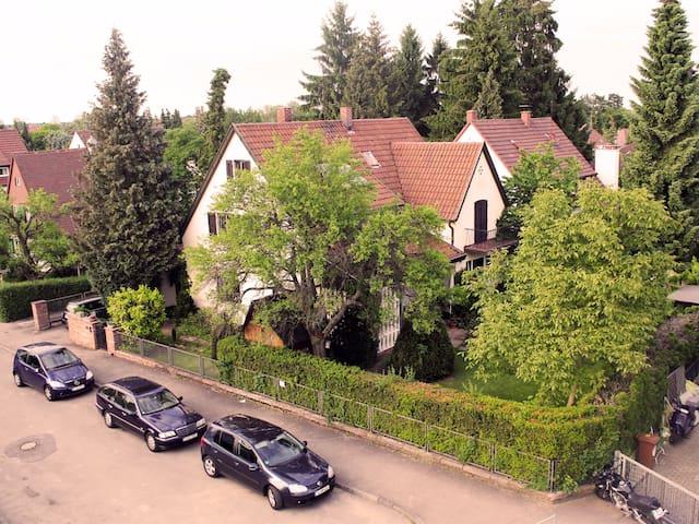 Gemütlich im Grünen Zentru (Hidden by Airbnb) ah und Nähe Uni
